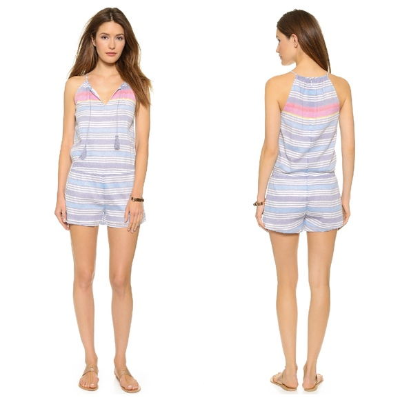 6109ea36e54 Joie Pants - Soft Joie Pear Romper Striped One Piece Outfit S